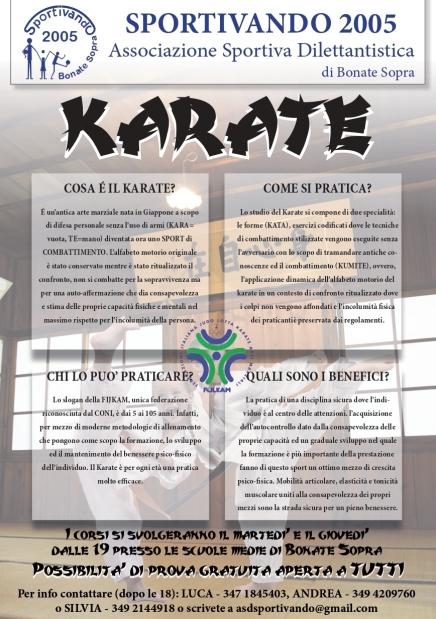 Volantino karate 2019-20